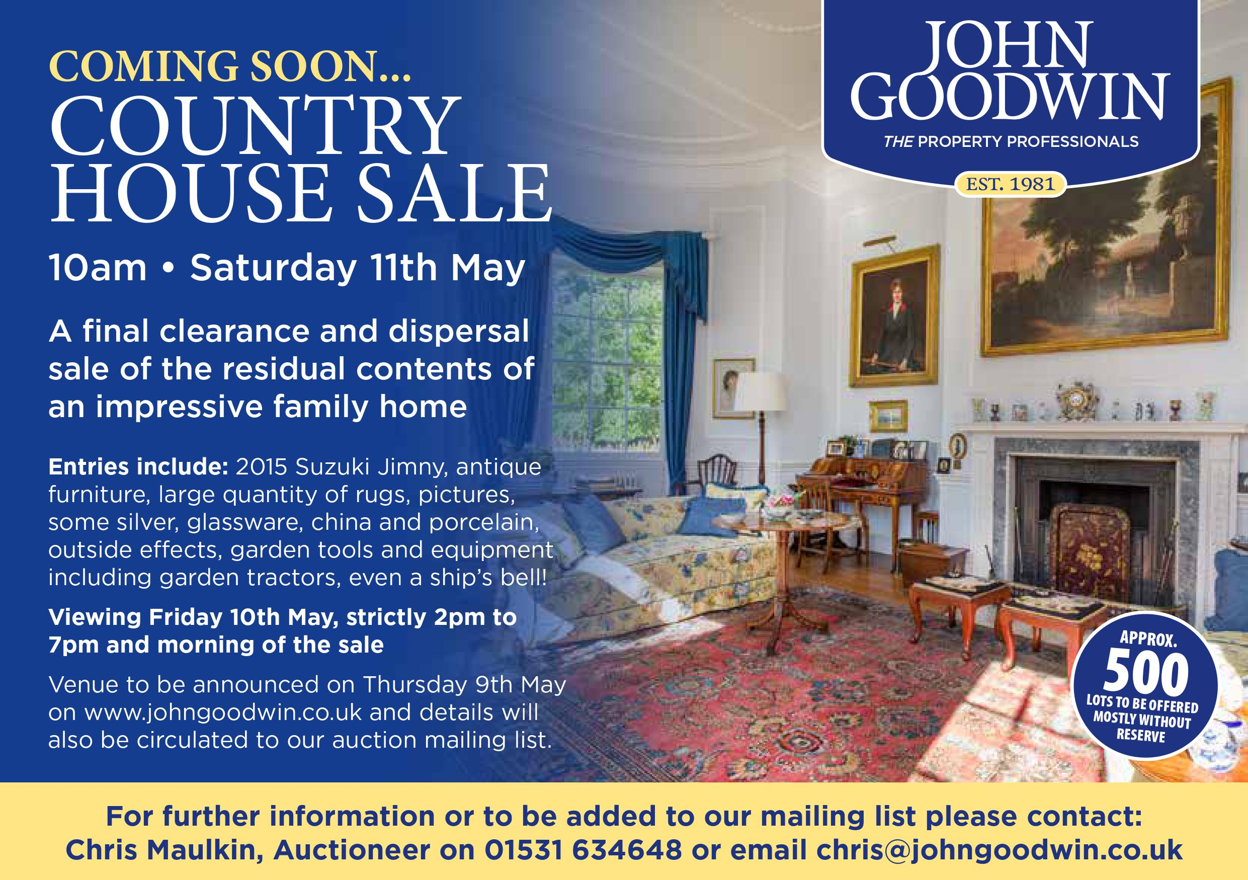 Country House Sale